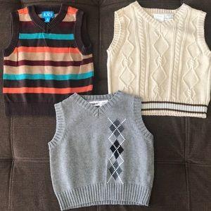 Baby Boy Sweater Vests